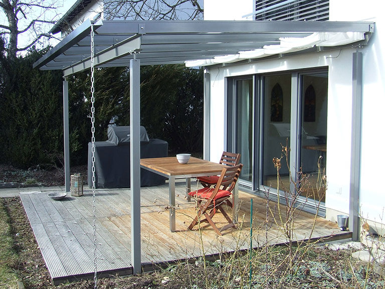 terrassen berdachungen. Black Bedroom Furniture Sets. Home Design Ideas