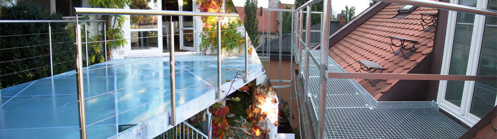 Balkongeländer und Terrassenüberdachungen München, Überdachung für den Wintergarten